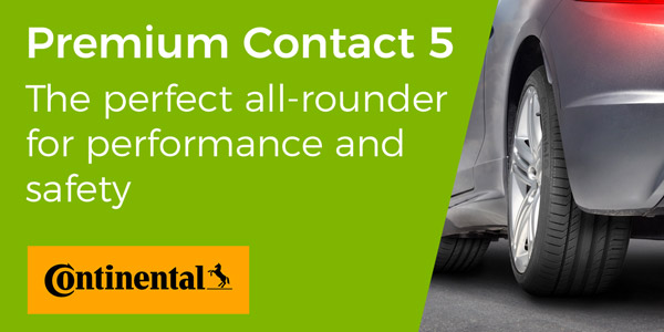 Continental Premium Contact 5 banner