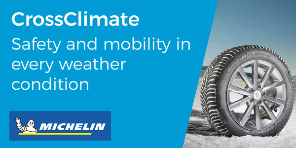Michelin CrossClimate banner